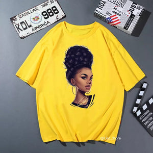 AFRICAN LADY SHIRT