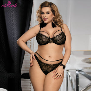 Intimate stylish hot fancy luxury push up bra and panty set