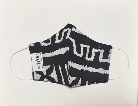 African Print 1 (Black and White)
