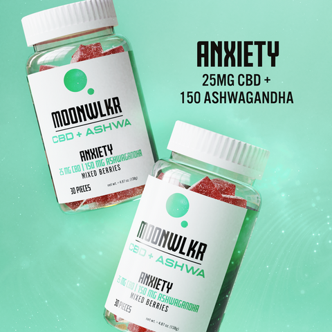 CBD and Ashwagandha Gummies for Anxiety Relief