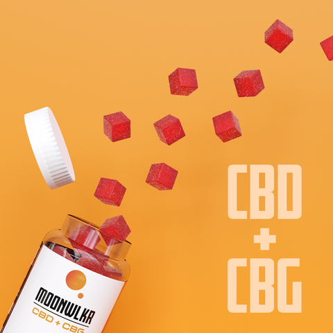 CBD and CBG together in a gummy
