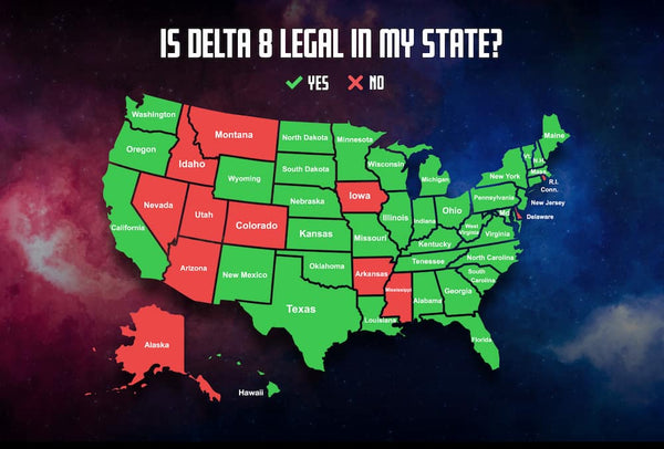 Is Delta 8 Legal in My State Graphic