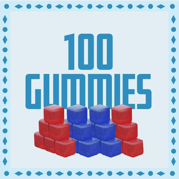 Stock Up Deal - 100 Delta-8 Gummies