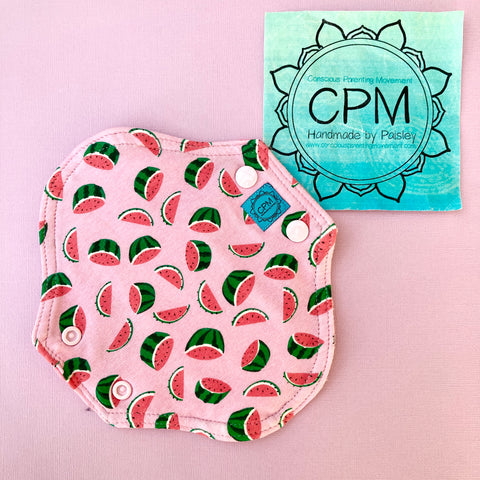 Cloth Menstrual Pads : Watermelons