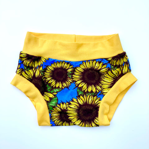 Training Pants : Sunflower Symphony with Yellow