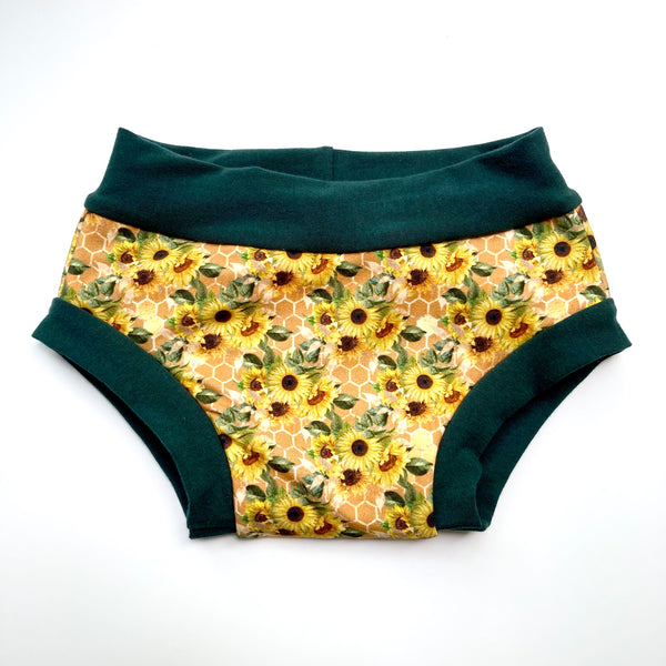 Kids Underwear : Sunflower Bouquet with Green