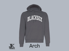 Load image into Gallery viewer, Ladies Blacksox Arch Performance Hoodie