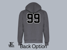 Load image into Gallery viewer, Ladies Blacksox Mascot Performance Hoodie
