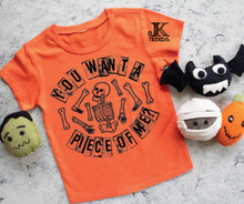 Load image into Gallery viewer, You Want Piece Of Me Youth Halloween Fun Shirt