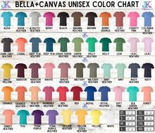 Load image into Gallery viewer, Peace Love Longhorns Bella Canvas Crew Neck