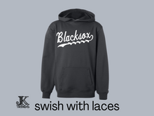 Load image into Gallery viewer, Men Blacksox with Swish Performance Hoodie
