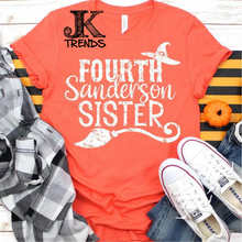 Load image into Gallery viewer, Fourth Sanderson Sister Halloween Shirt Hocus Pocus Bella Canvas