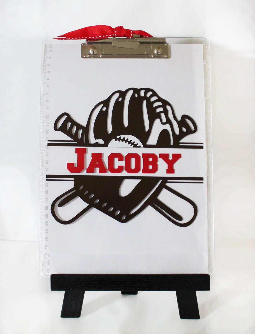 Personalized Baseball Clipboard - Coach - Kids - Thank You - Team - Athlete - Player - Mitt - Christmas - End of Year -  Gift - Teacher