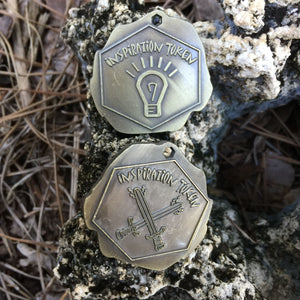 Inspiration Tokens - 40mm - 5 Each
