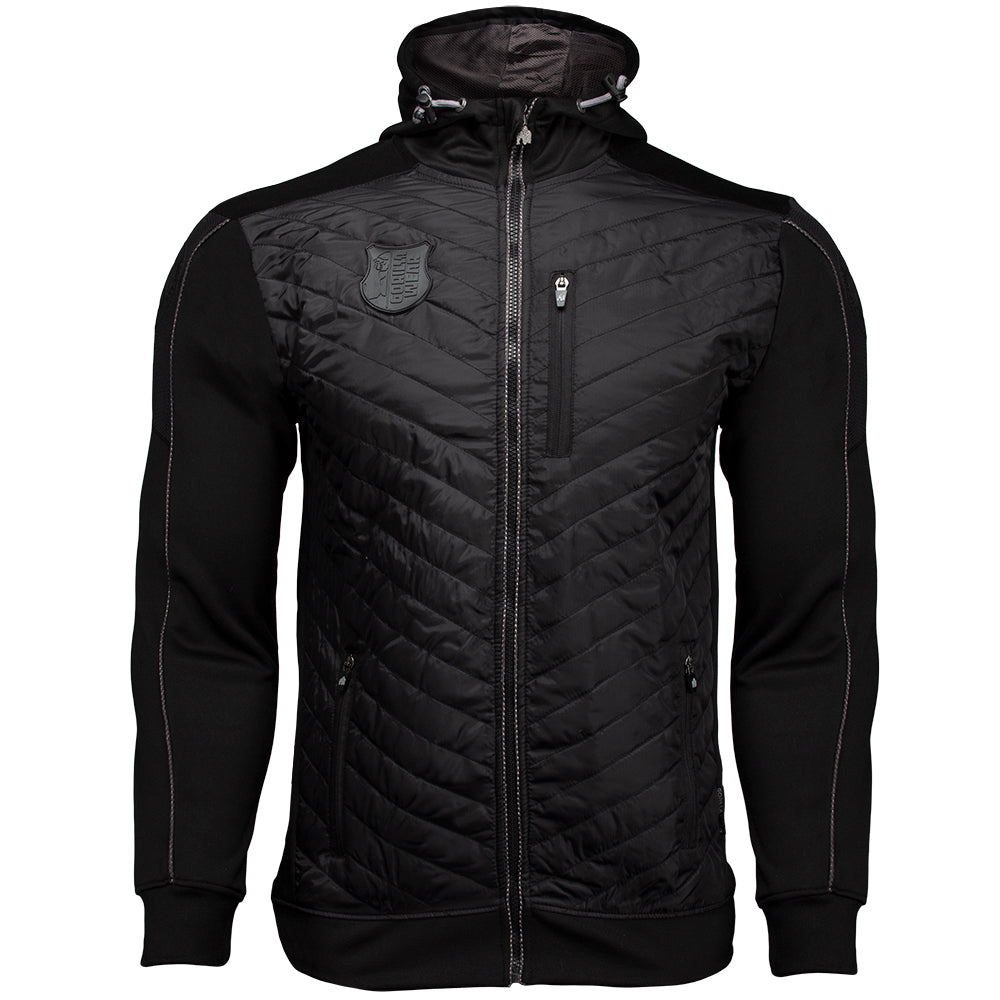 Gorilla Wear Jefferson Front Padded Jacket - Musta/Harmaa