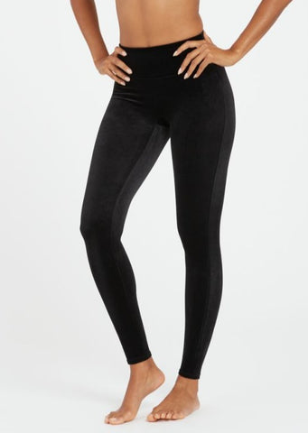 SPANX: Velvet Leggings -Black