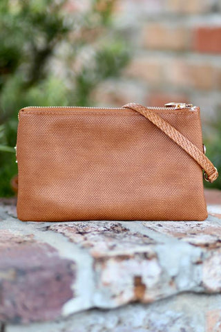Crossbody Bag -Canvas Camel