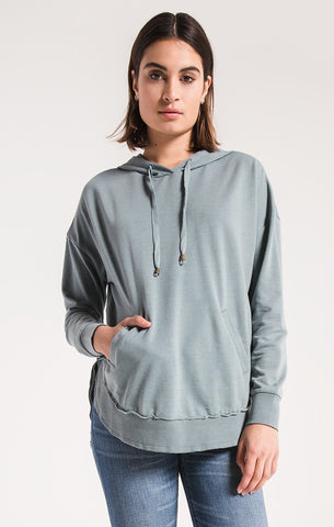 Z Supply The Dakota Pullover -Sea Green