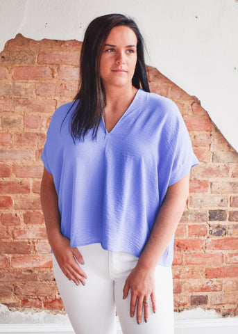 Vince Top -Cobalt