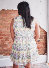 Harper Wren Barcelona Dress -Yellow Floral