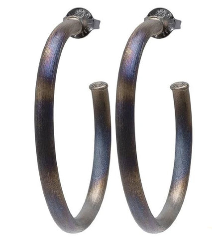 Sheila Fajl Everybody's Favorite Hoops -Burnished Gun Metal