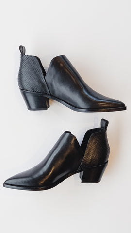 Dolce Vita Sonni Bootie -Black Leather