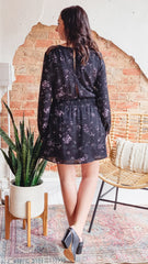Rhone Dress -Scattered Floral