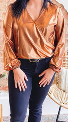Avery Top -Copper