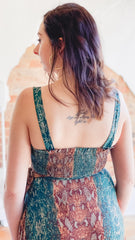Free People Date Set Top -Green