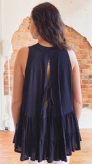 Free People Right On Time Top -Black