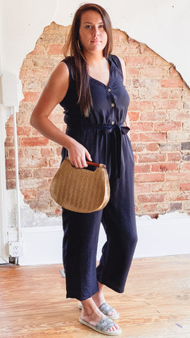 Lexie Jumpsuit -Black