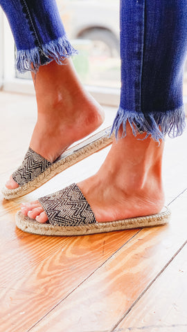 Free People Beach Front Espadrille -Black