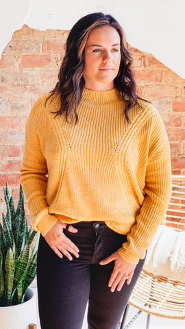 Carina Sweater -Mustard