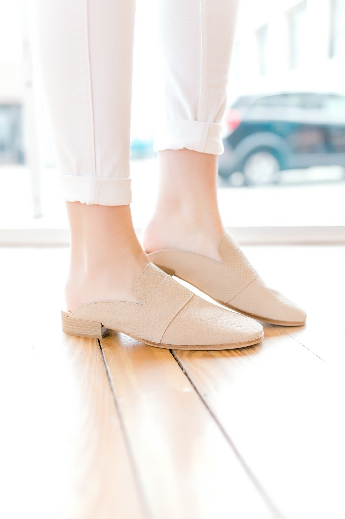 Free People At Ease Loafer -Beige