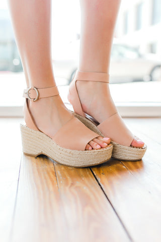 Dolce Vita Lesly Wedges -Rose