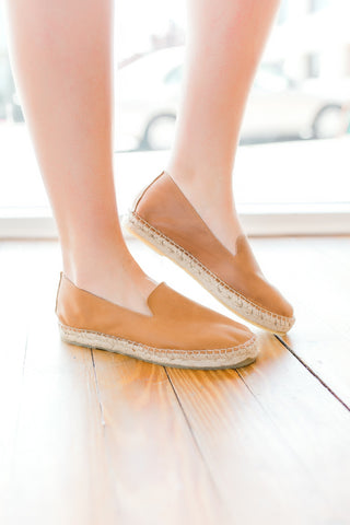 Free People Laurel Canyon Espadrille Shoe -Taupe