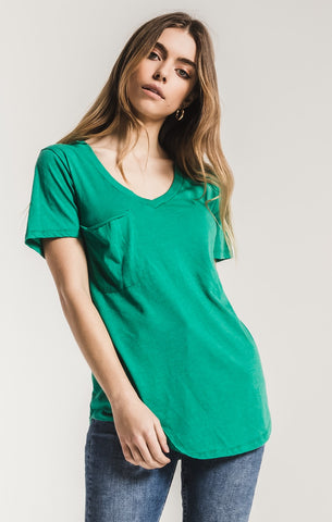 Z Supply The Pocket Tee -Paradise Green