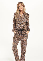Z SUPPLY: Dream State Leopard PJ Set