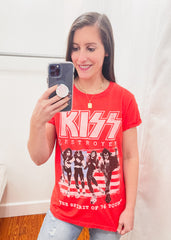 Kiss Destroyer Tee