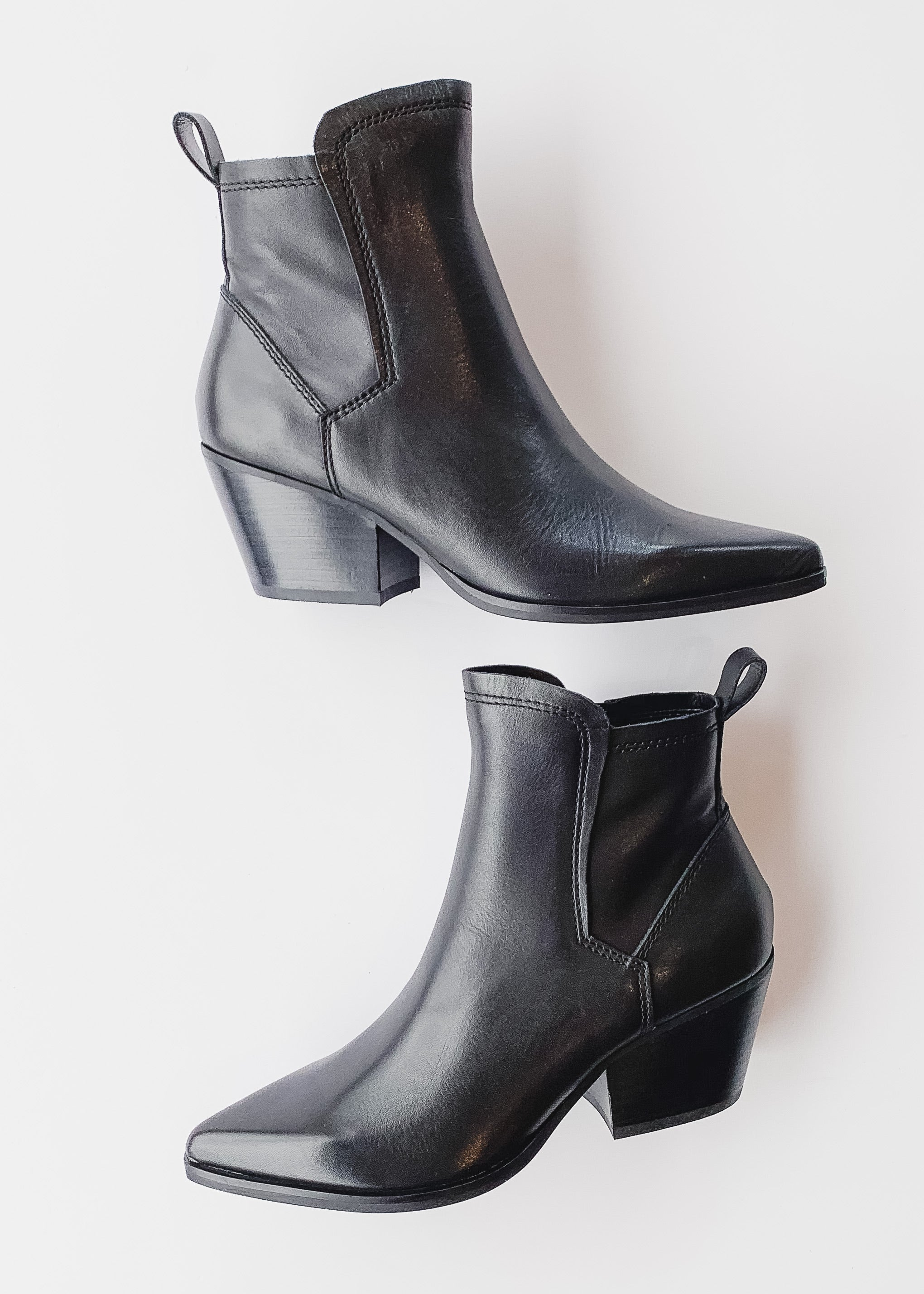 Dolce Vita Sammey Booties -Black Leather