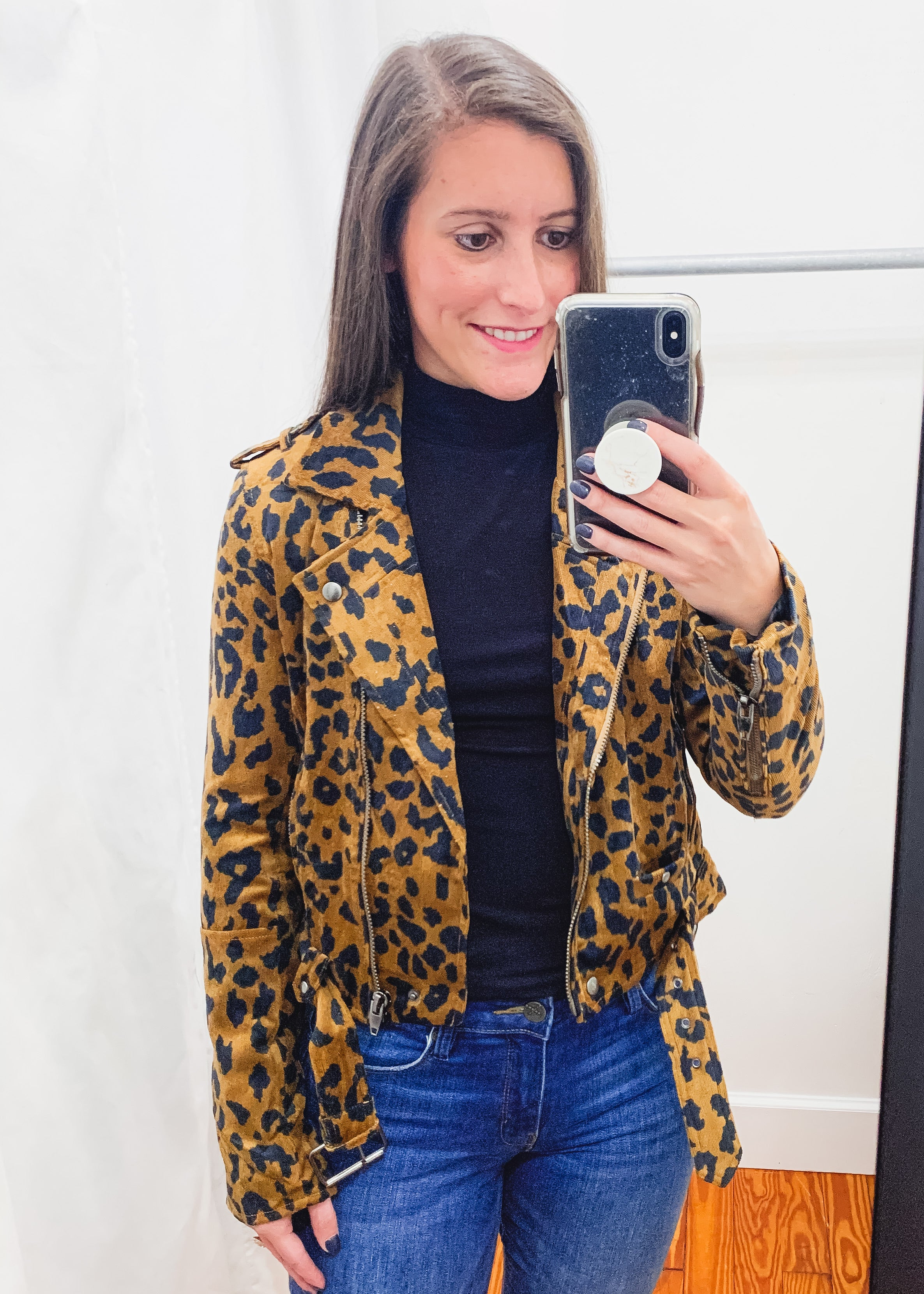 Cicely Leopard Jacket