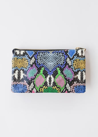 Crossbody Bag -Snake Multi Graffiti