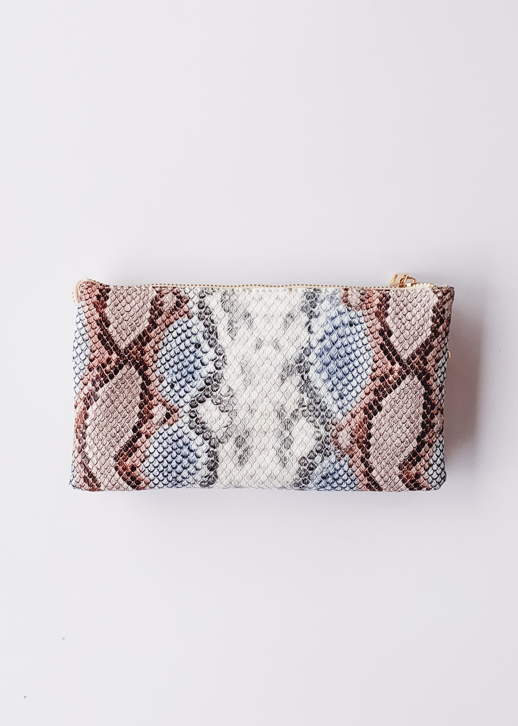 Crossbody Bag -Snake Sunset