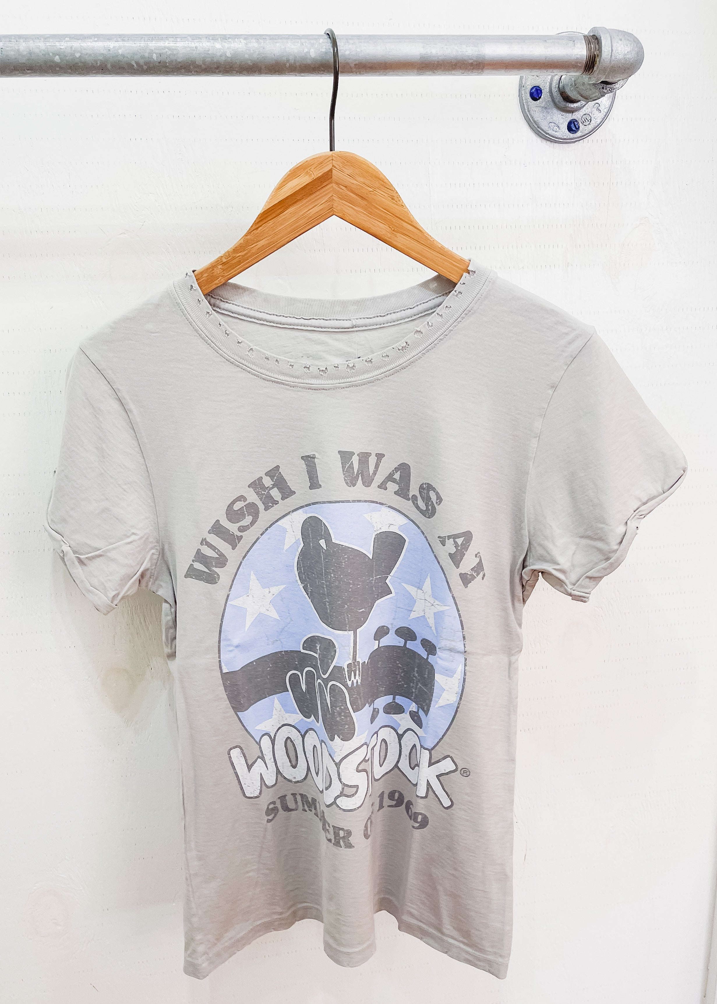 Wish I Was At Woodstock Tee