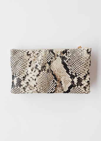 Crossbody Bag -Snake Gold Fleck