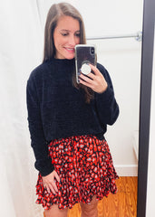 Presley Cherry Bomb Skirt
