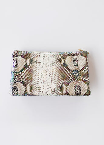 Crossbody Bag -Snake Multi Hologram