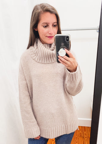 Karen Sweater -Mocha