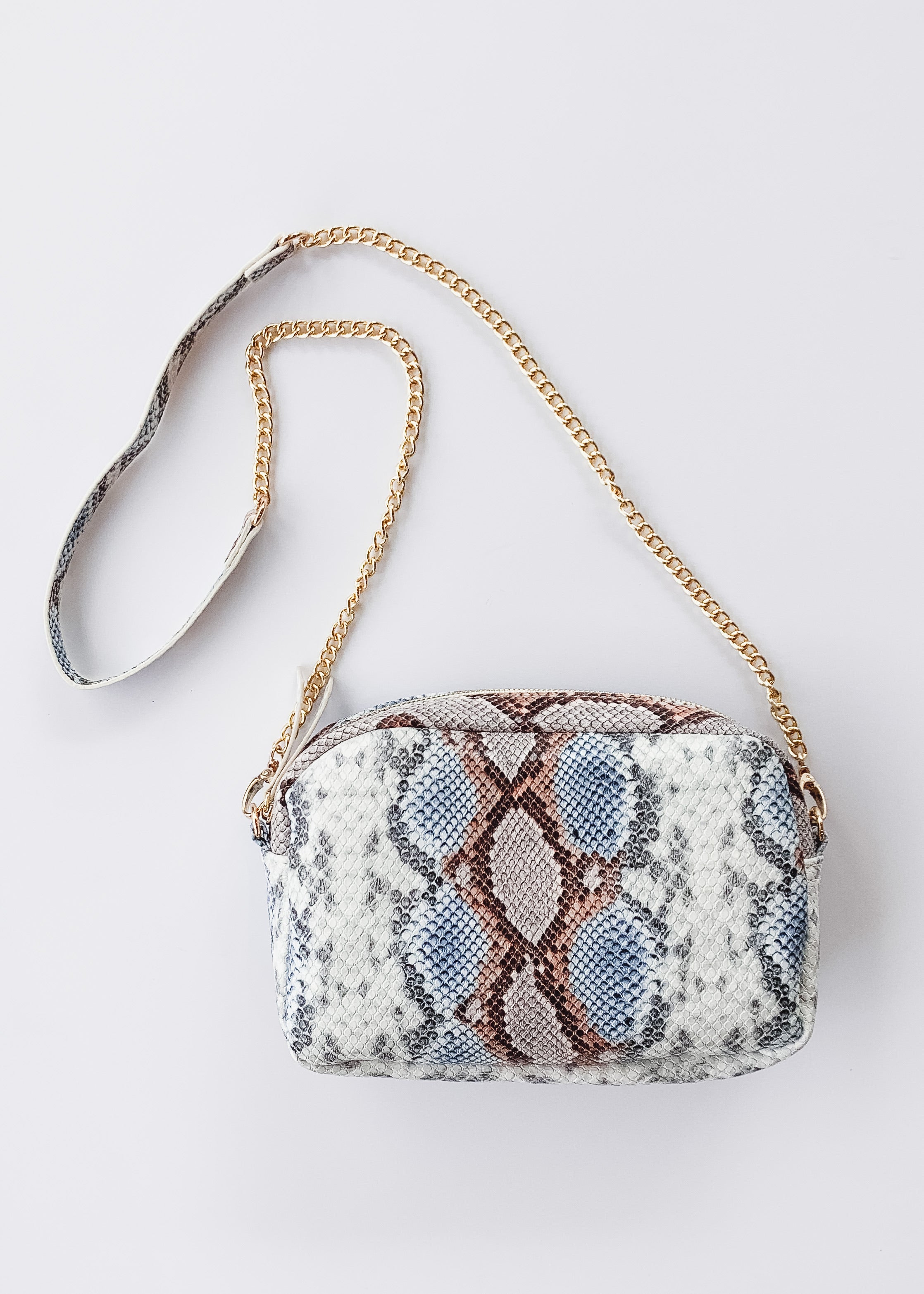 Millie Crossbody -Snake Sunset
