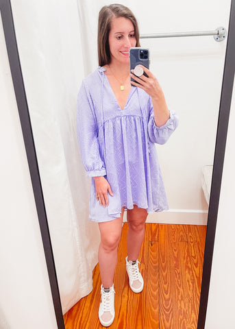 Fiona Periwinkle Dress